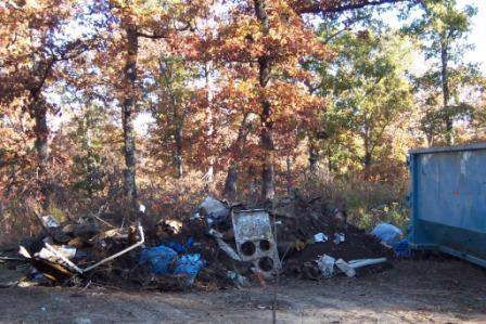 Trash removed from Gooch Sinkhole