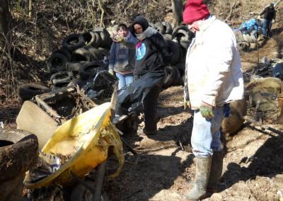 Goodwin Sinkhole restoration workday.