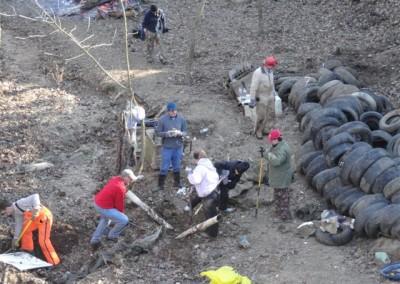 Goodwin Sinkhole restoration work