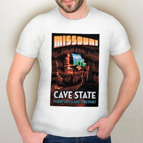 Missouri Cave State Tshirt