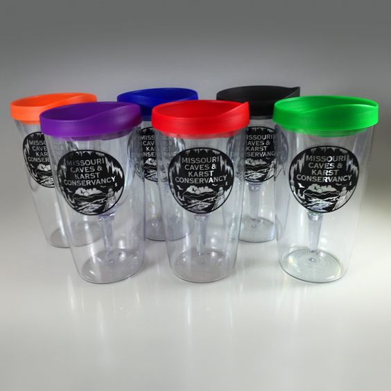 Wine Tumblers with MCKC Logo